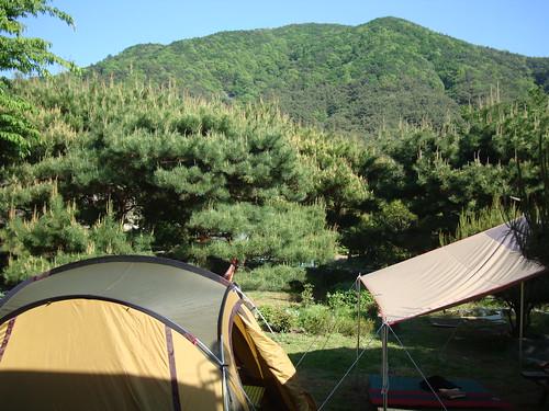 Camping in Gyeongsangnam-do