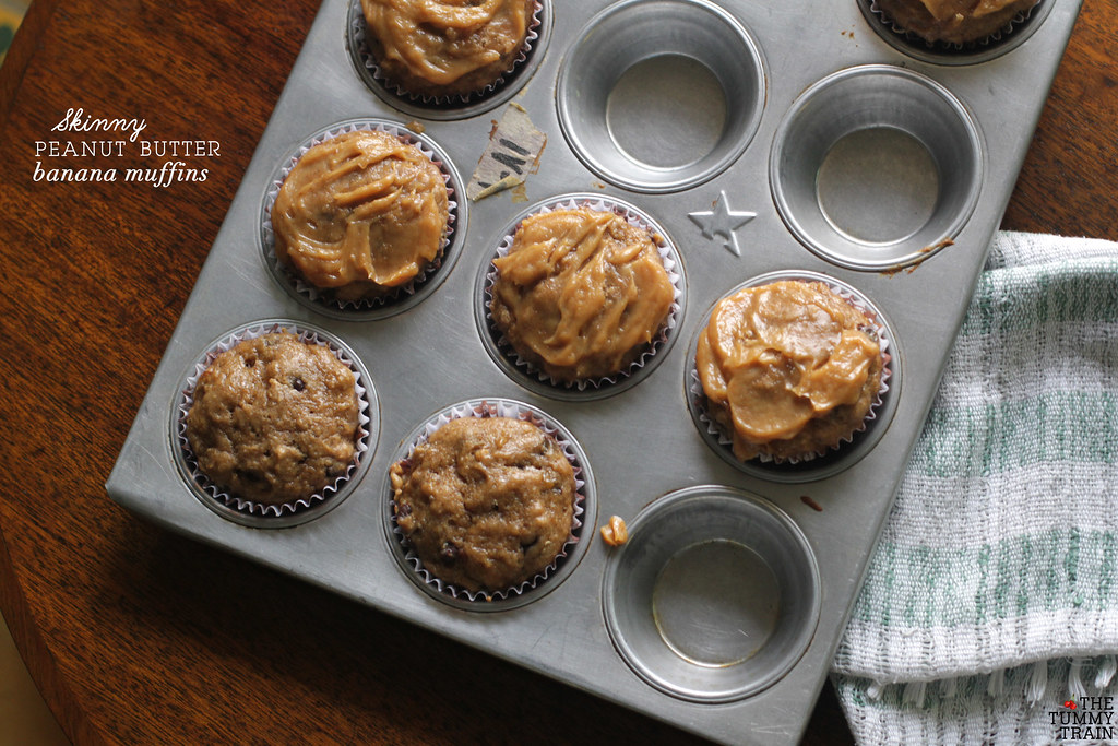 "14069511013 fb71bfc8ca b - Some ""Skinny"" Peanut Butter-Banana Muffins for bikini season"