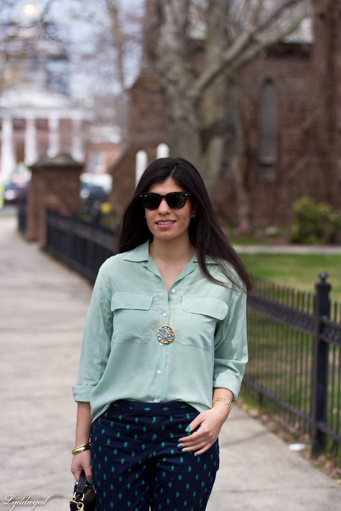 mint blouse and printed pants-2.jpg