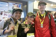PH Observatory Race Team - 8 km - after the race!