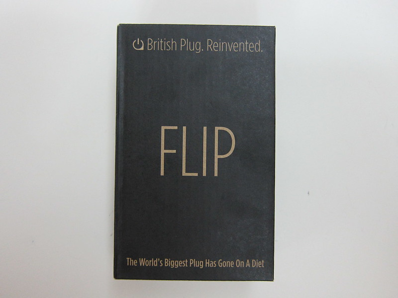 Flip British Plug - Flip Quad - Box Front