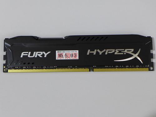 HyperX FURY 酷炫黑 DDR3-1866 8GB