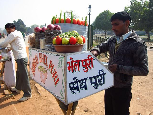 Bhel Puri Cart