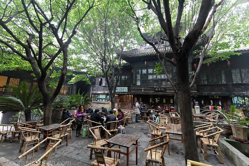 Interior, Huanhou Palace Teahouse