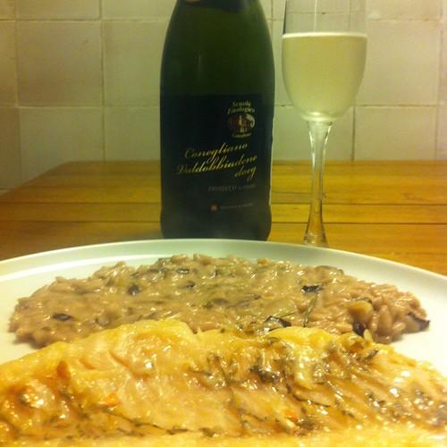 Papageienfisch Con Risotto Di Treviso Con Radicchio di Treviso E Prosecco Docg @ Le Gourmand, Private Home Fine Dining