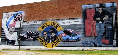 Bristol, VA NASCAR Mural
