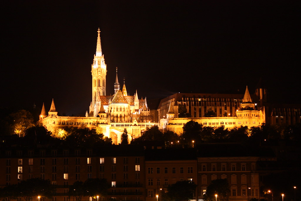 Budapest, Matthias Church and Fishermen's Bastion