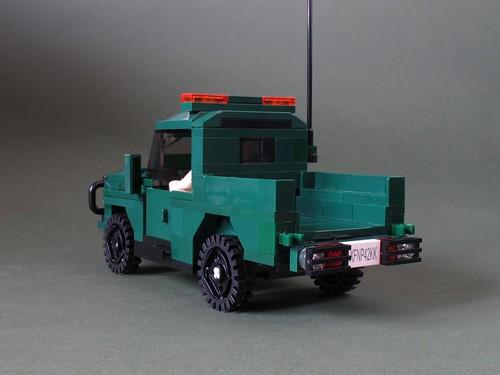 Green Army 4x4: 5