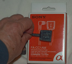 Sony off-camera flash cable