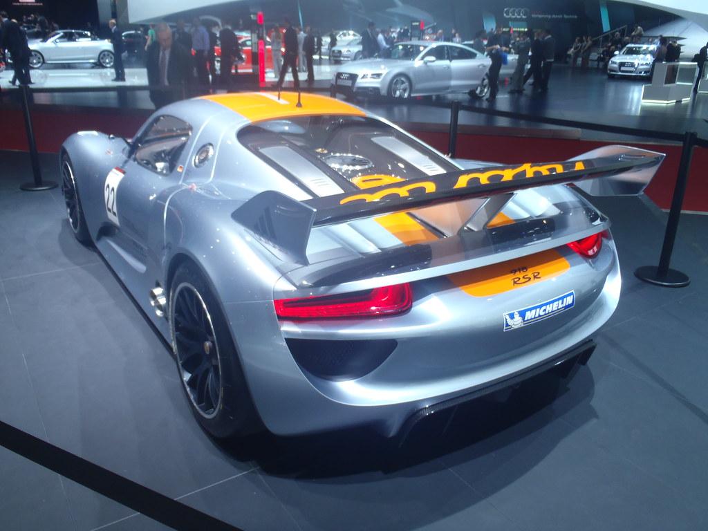 Porsche 918 Hybrid al salone di Ginevra 2011