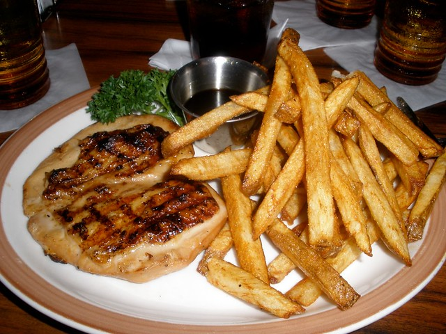 Fries with Steak