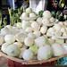 Piles of Onion at Juarez Market - Oaxaca, Mexico