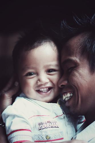 無料写真素材, 人物, 子供  赤ちゃん, 家族・親子, 笑顔・スマイル, インドネシア人