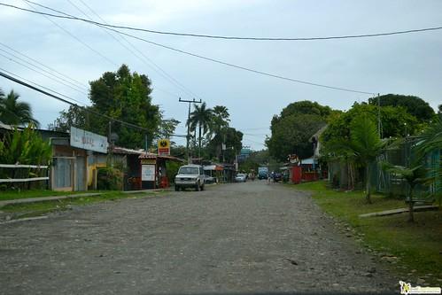 Main Road of Cahuita costa rica