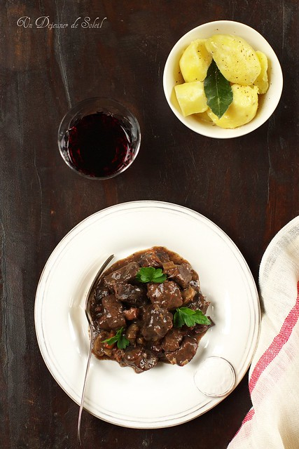 Julia Child Boeuf Bourguignon