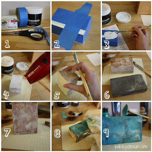 How to: turn a Soap Box into a Mini Canvas