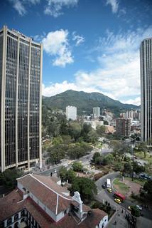 Vista del Centro Internacional de Bogotá