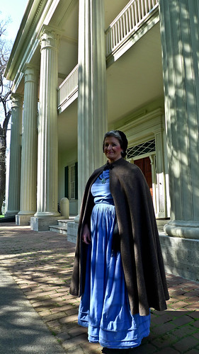 Tour Guide in Period Costume