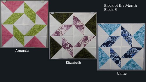 Block of the Month, Block 3