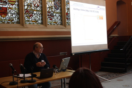 Humphrey Southall talking about Old Maps Online