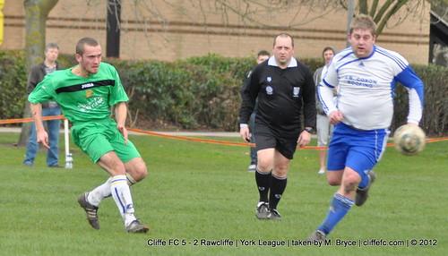 Cliffe FC 5 - 2 Rawcliffe 17Mar12