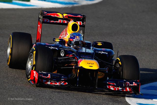 Red Bull RB8 F1 2012 Sebastian Vettel Day Three