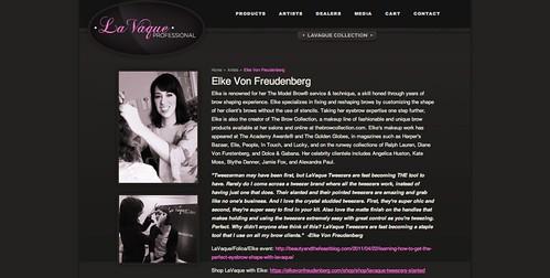 Elke Von Freudenberg   LaVaque Professional