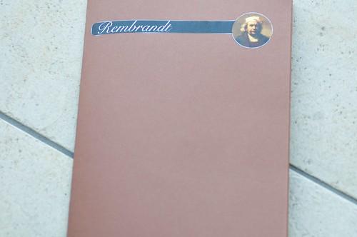 Rembrandt Lapbook 1