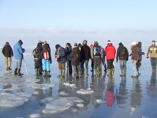IJSwadlopen Noordpolderzijl