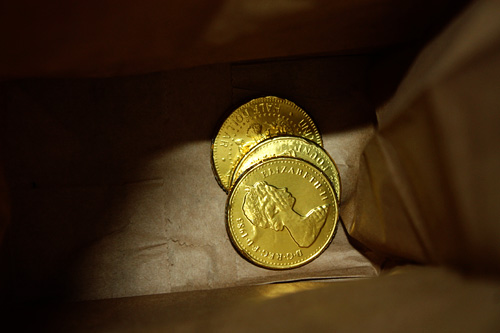 Coins-in-Bag