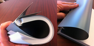 Flexible Cover of the Levenger Circa Dimensions Notebook