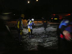 De start in Bolsward, 11 februari 2012 Elfstedentocht