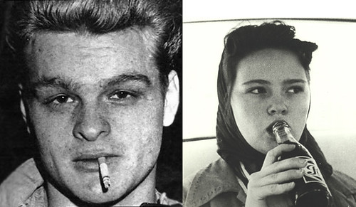 Charles Starkweather and Caril Fugate