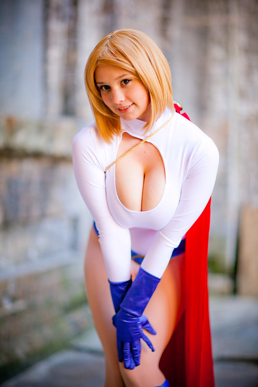 Power Girl - Animania (Mini) - March 2012