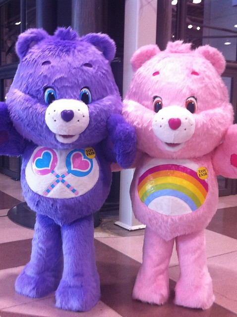 The Care Bears at Toy Fair 2012