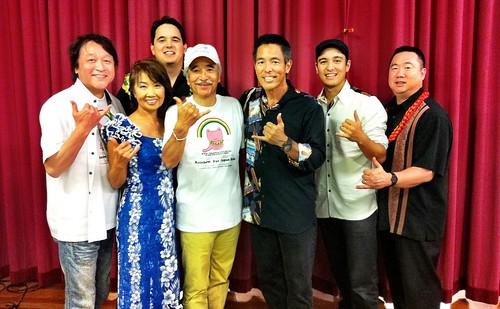 Rainbow for Japan Kids Concert Backstage!