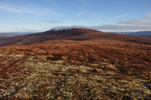 Charn a' Ghille Chearr from Coronation Cairn