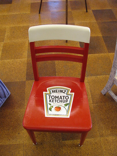 Ketchup Chair