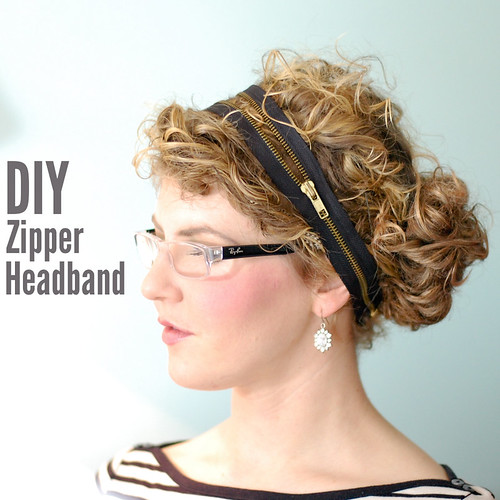 DIY Zipper Headband