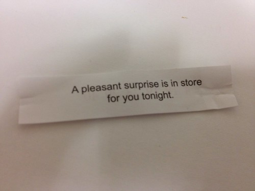 My Valentine's Day Fortune Cookie