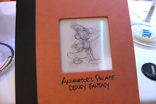 Animator's Palate restaurant menu