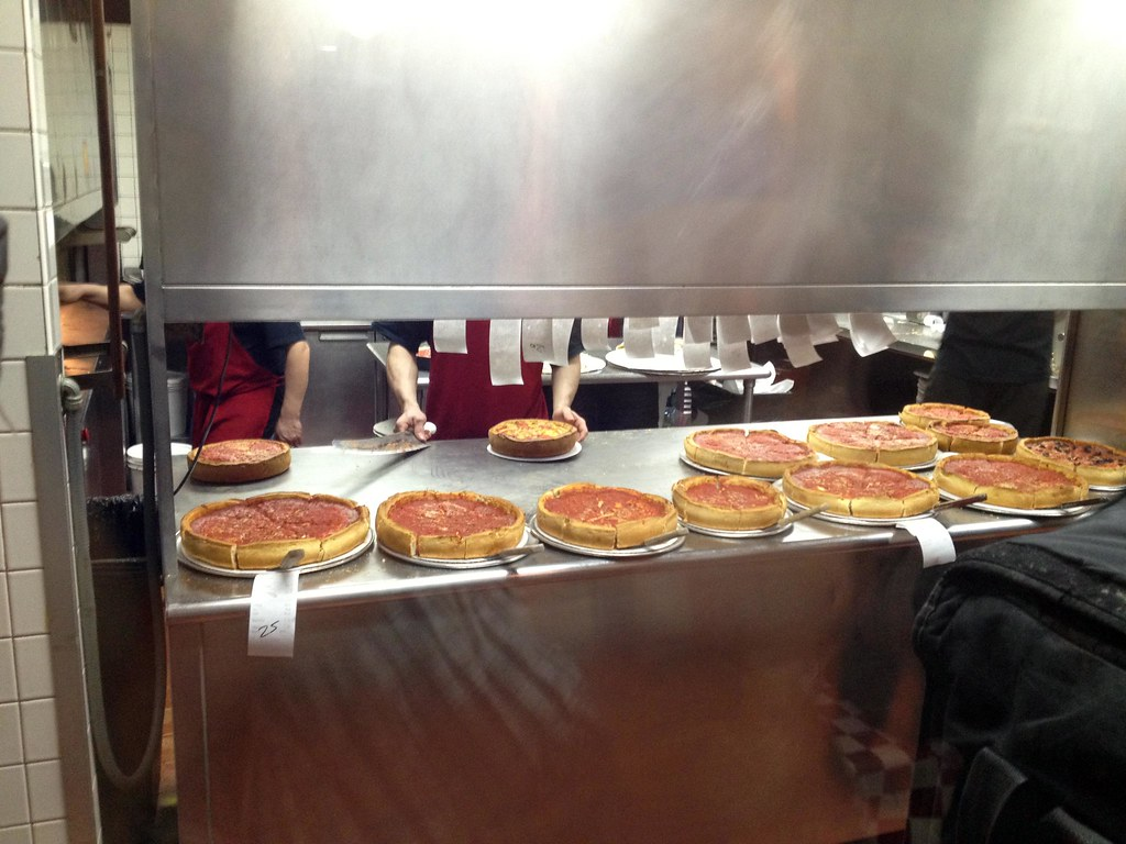 Giordano's Pizza - Windy City - See Highlights From Around Chicago, Illinois! (via Wading in Big Shoes)