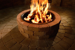 Compact Fire Ring (Fire)