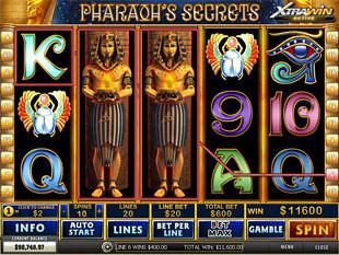 Pharaoh's Secrets Expanding Wild