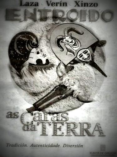 Entroido 2012- Laza-Verín-Xinzo - cartel