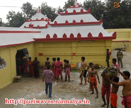 Pankaudhar Ekadashi At Shri Lokannath Temple Puri