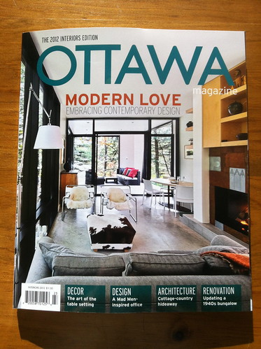 new magazine with projects from almost everyone who's working on our house right now