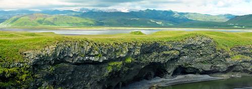 Coastal landscape, near Dyrholaey