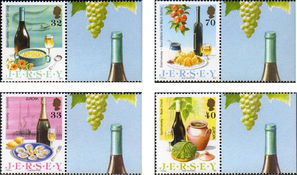 Isla de Jersey, sellos gastronómicos