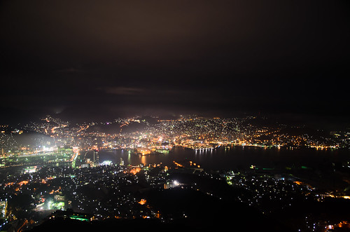 Night View From Mt.Inasa